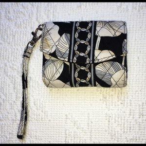 Vera Bradley Tri-Fold Wallet w/Wristlet Loop